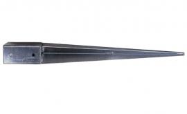 Paalsteunen Verzinkt 70x70x750 mm