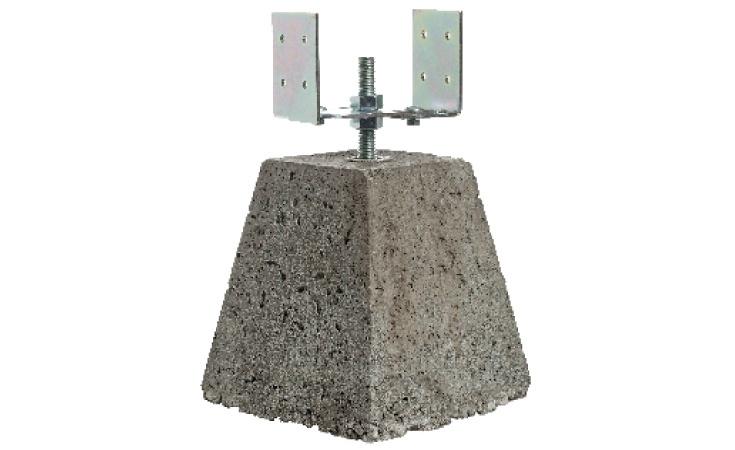 Betonpoer Verstelbaar 40 cm