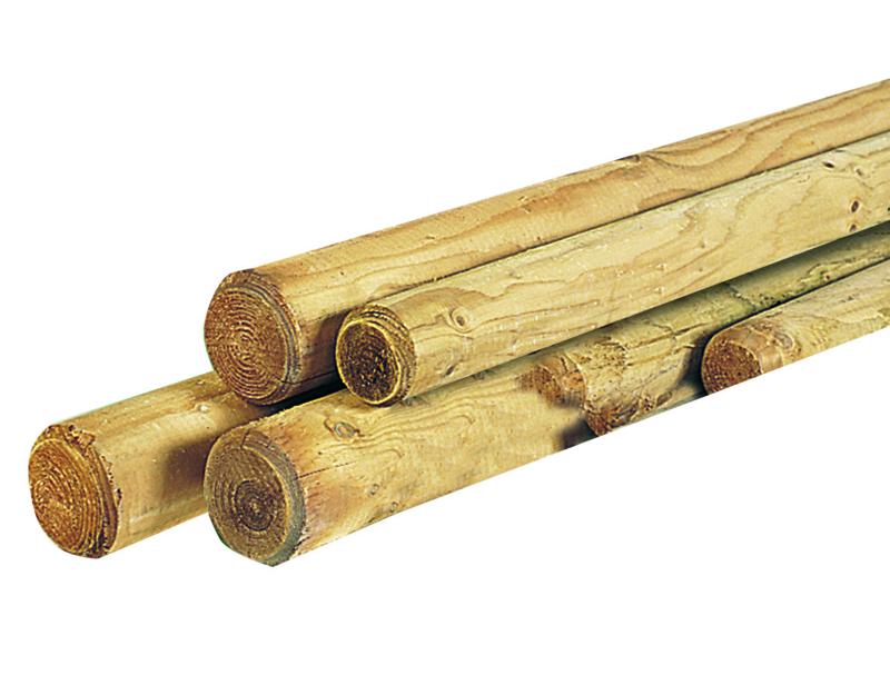 Ronde Palen, Boompalen, dikte 4 cm