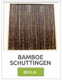 Bamboepalen, Bamboestokken, Bamboeschermen, Bamboeschutting