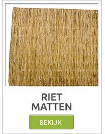 rietmatten, rietrollen, rietenmatten,bamboestokken,bamboepalen