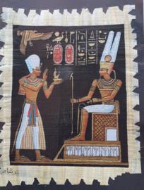 Papyrus - 30 x 20 cm - Ramses + Osiris