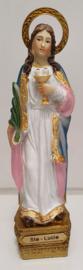 Heilige Lucia 14 x 3 x 3 cm