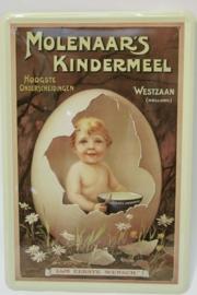 Molenaars Kindermeel - Ei 20 x 30 cm