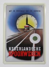 Nederlandse Spoorwegen - 20 x 30 cm