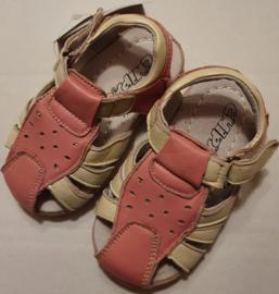 Babyschoentjes - Leer - Meisje - Roze - Maat 23 - Merk Chippo