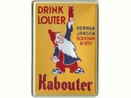 Louter de Kabouter 20 x 30 cm