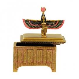 Juwelenkistje - Isis met  gespreide vleugels van Maät