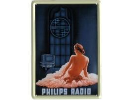 Philips  Radio vrouw 20 x 30 cm
