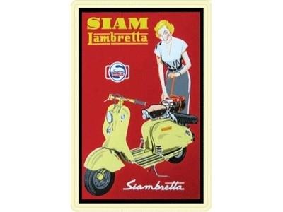Lambretta - 20 x 30 cm
