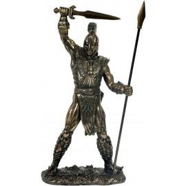Achilles - Steen - Bronskleurig - 29 cm - Merk Mysticalls