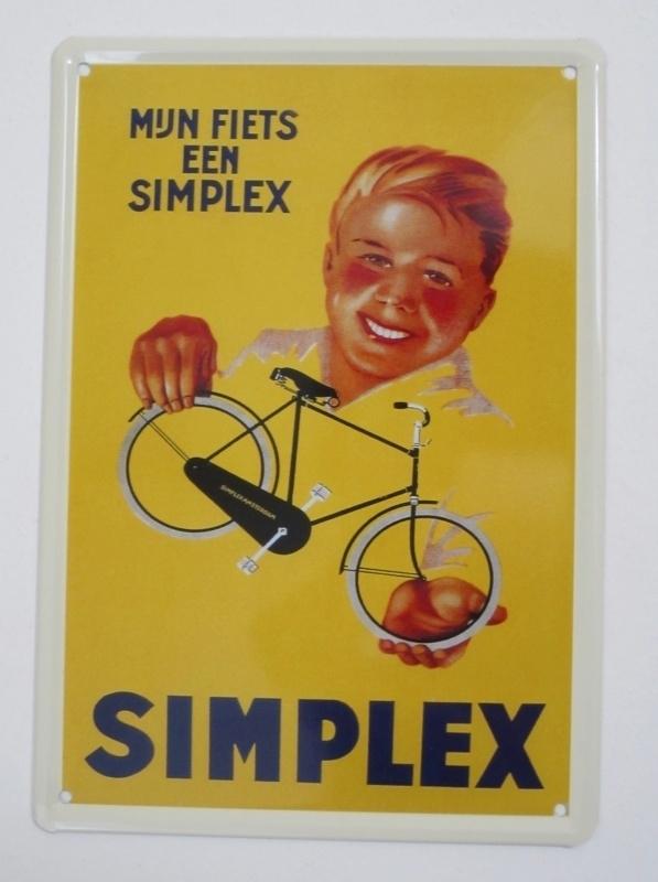 Fiets-Simplex - 20 x 30 cm