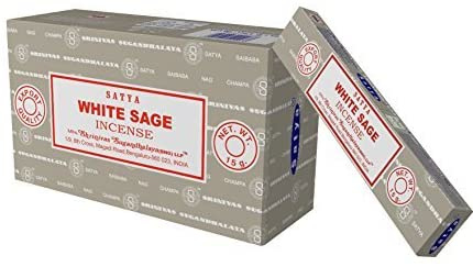 Wierook - White Sage - Pak 12 pakjes á 15 stokjes