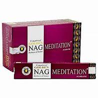 Wierook - Nag Champa Meditation - 12 pakjes á 15 stokjes