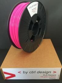 PLA Magenta 750 gram 1,75mm / 2,85mm (3mm)