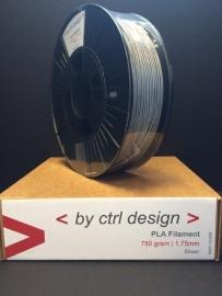 PLA Silver 750 gram 1,75 mm / 2,85 mm (3mm)