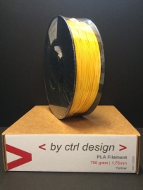 PLA Yellow 750 gram 1,75 mm / 2,85 mm  (3mm)