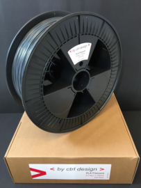 Iron Grey Pla filament 1,75mm 2,3 kg