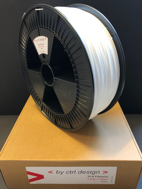 White PLA Filament 2,3 kg 1,75 mm