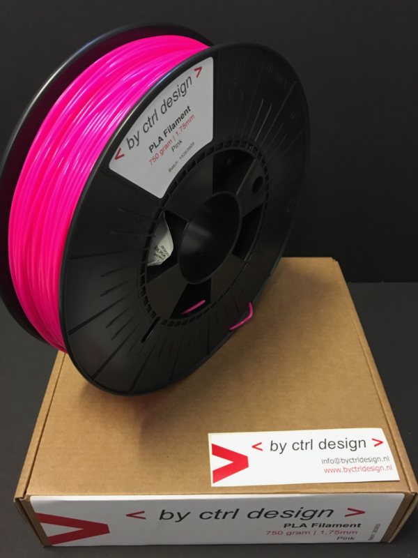 PLA Pink 750 gram 1,75mm / 2,85mm (3mm)