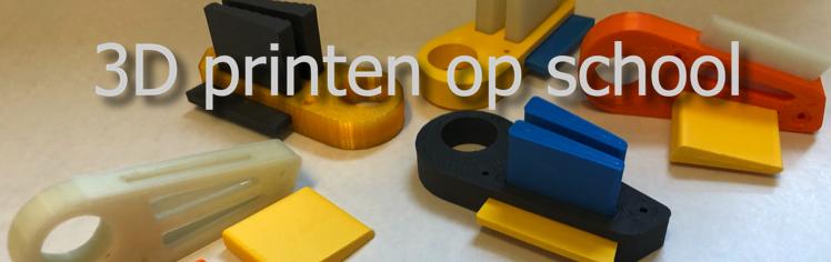 3D printen op school 1