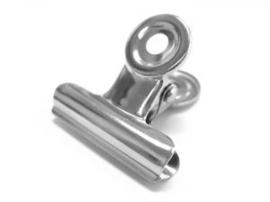 Metalen klem / clip (zilver of zwart)