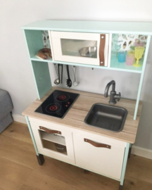 Set handgreepjes voor Ikea keukentje 'Duktig'