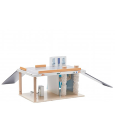 Kids concept - (3 in 1) Wasstraat / service garage / tankstation Aiden