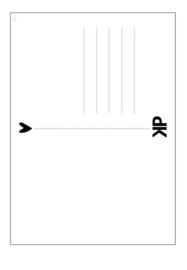 Kaart  dots 'Dit leuke kaartje is voor jou'