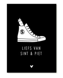 Klein kaartje - Liefs van Sint en Piet