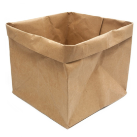 Craft paperbag HOP (large)