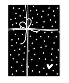 Klein kaartje - cadeautje