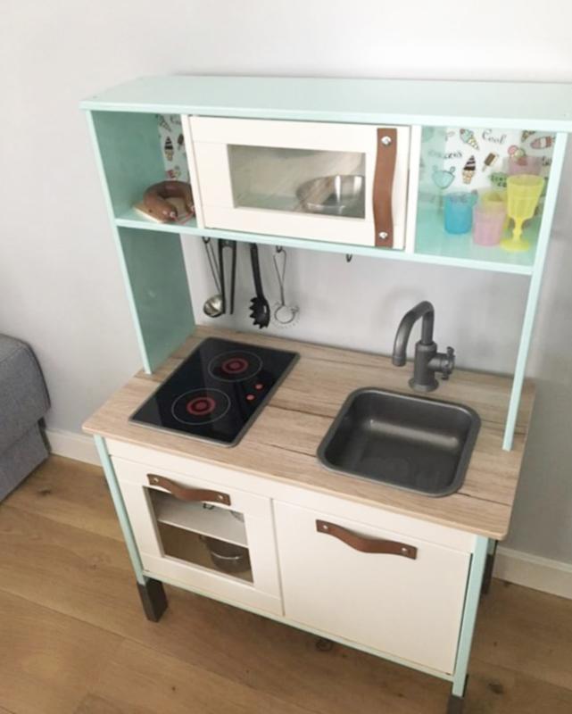Set Handgreepjes Voor Ikea Keukentje Duktig Handgreepjes Van Leer Echtvanhout