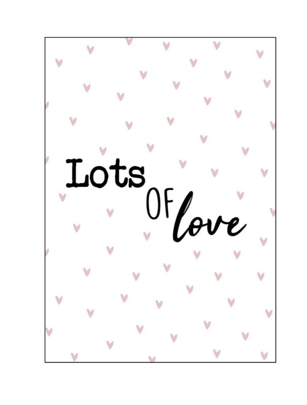 Kaart  'lost of love'