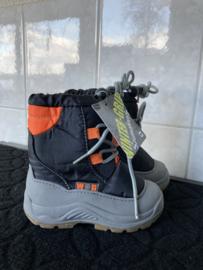 Snowbooots Junior grijs oranje 1150