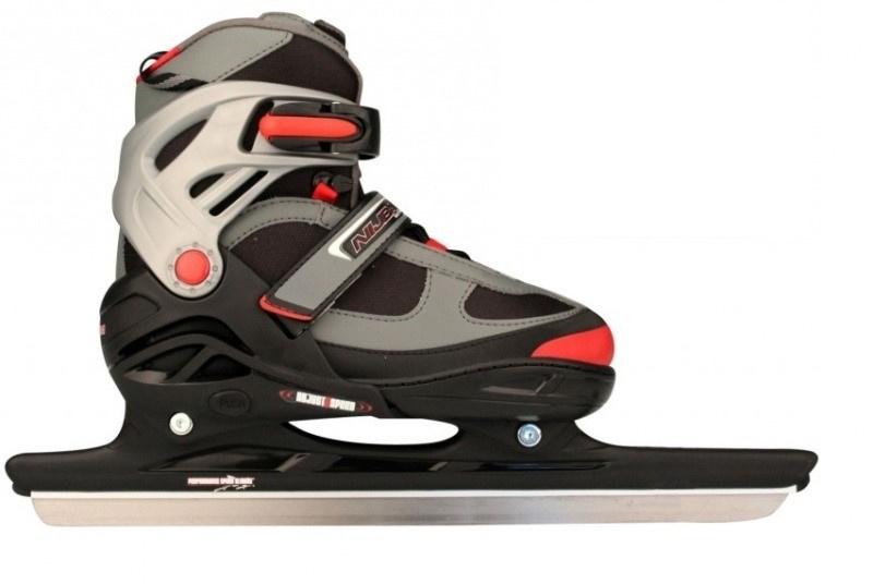 Nijdam schaatsen 3414 Norenschaats Verstelbaar - semi-softboot