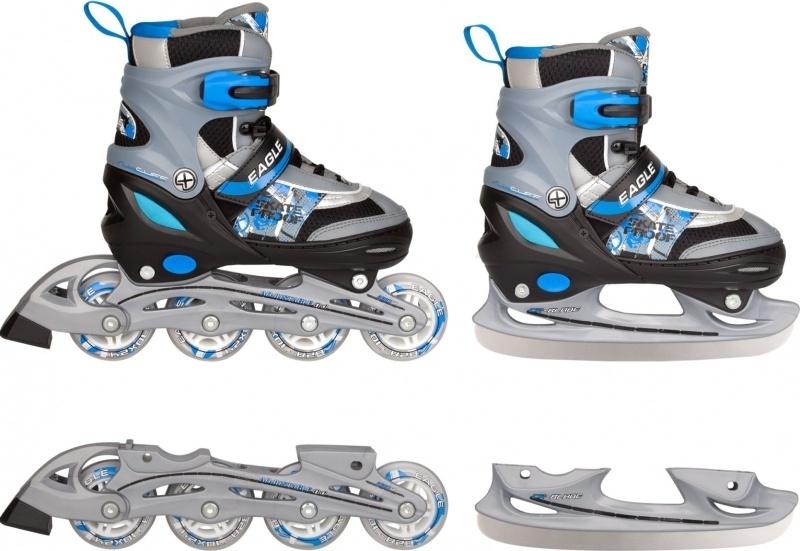 authentiek gekke prijs beste sneakers Nijdam 52QZ Skate/Schaats Combo Verstelbaar - semi-softboot ...