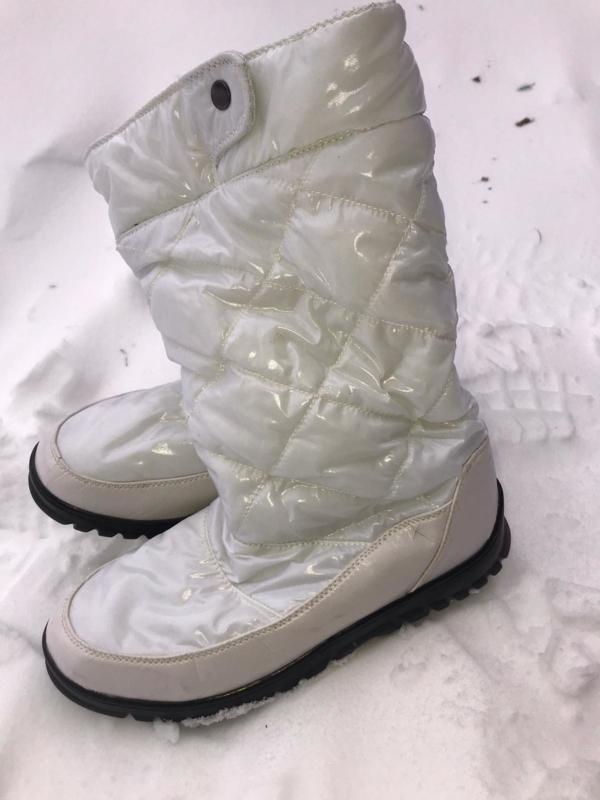 Snowboots glimmend dames/meisjes