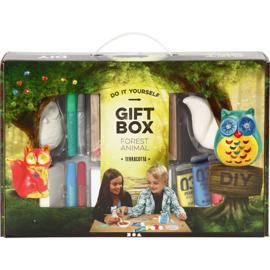 gift box terracotta