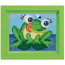 pixel mosaic set kikker