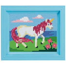 Pixelhobby mosaic eenhoorn