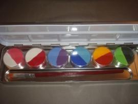 palet duo-kleuren (6x2st.)