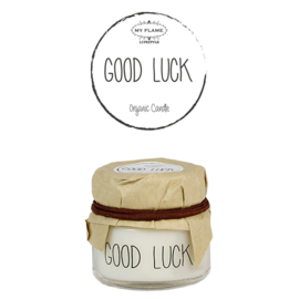 SOJAKAARS - GOOD LUCK - GEUR: FRESH COTTON