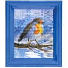 pixelset mini mosaic roodborstje