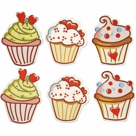 cupcakes 6 st.