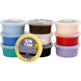 10 x 40 gram silk clay basis