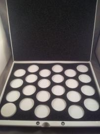 Superstar koffer met inlay voor 24 x 16 gram schmink