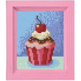 pixelset mini mosaic cupcake
