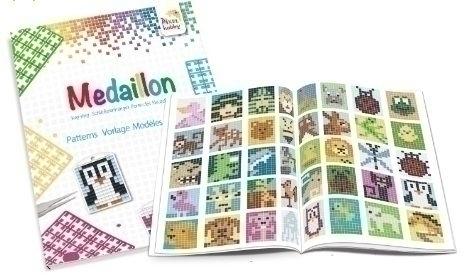 Boekje medaillons