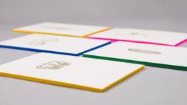 Papette flamingo card